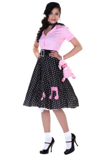 Plus Size Sock Hop Cutie Costume