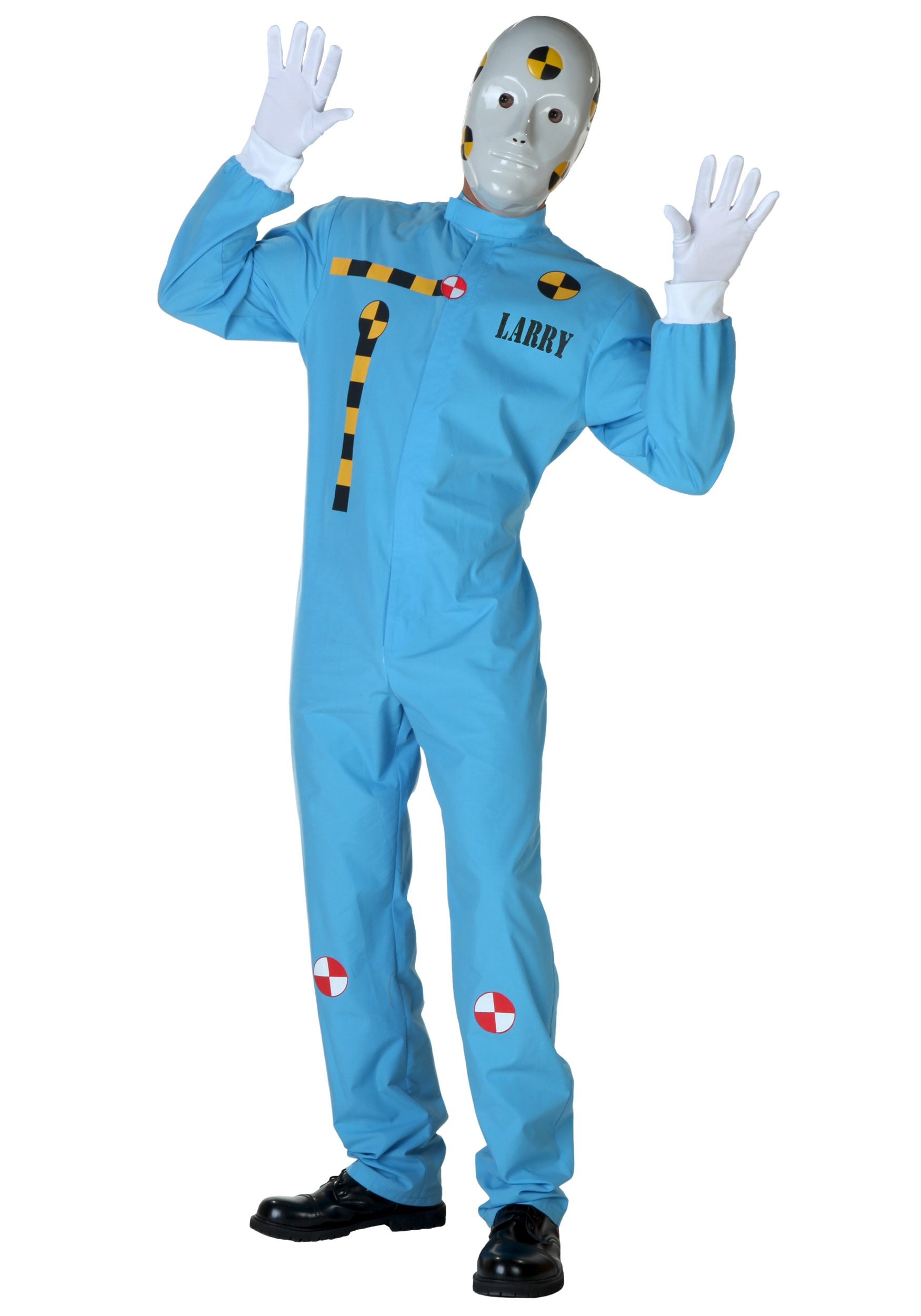 INOpets.com Anything for Pets Parents & Their Pets Plus Size Crash Test Dummy Costume