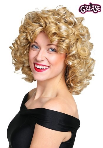 Womens Grease Bad Sandy Wig