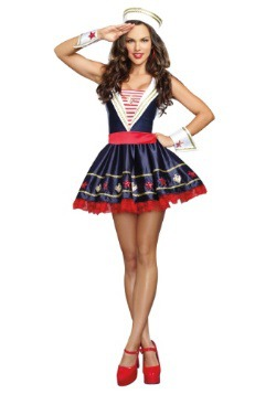 Women's Shore Thing Sailor Costume