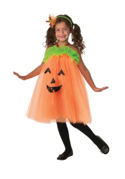 Pumpkin Tutu Dress