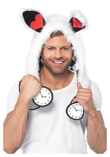 White Rabbit Furry Hood