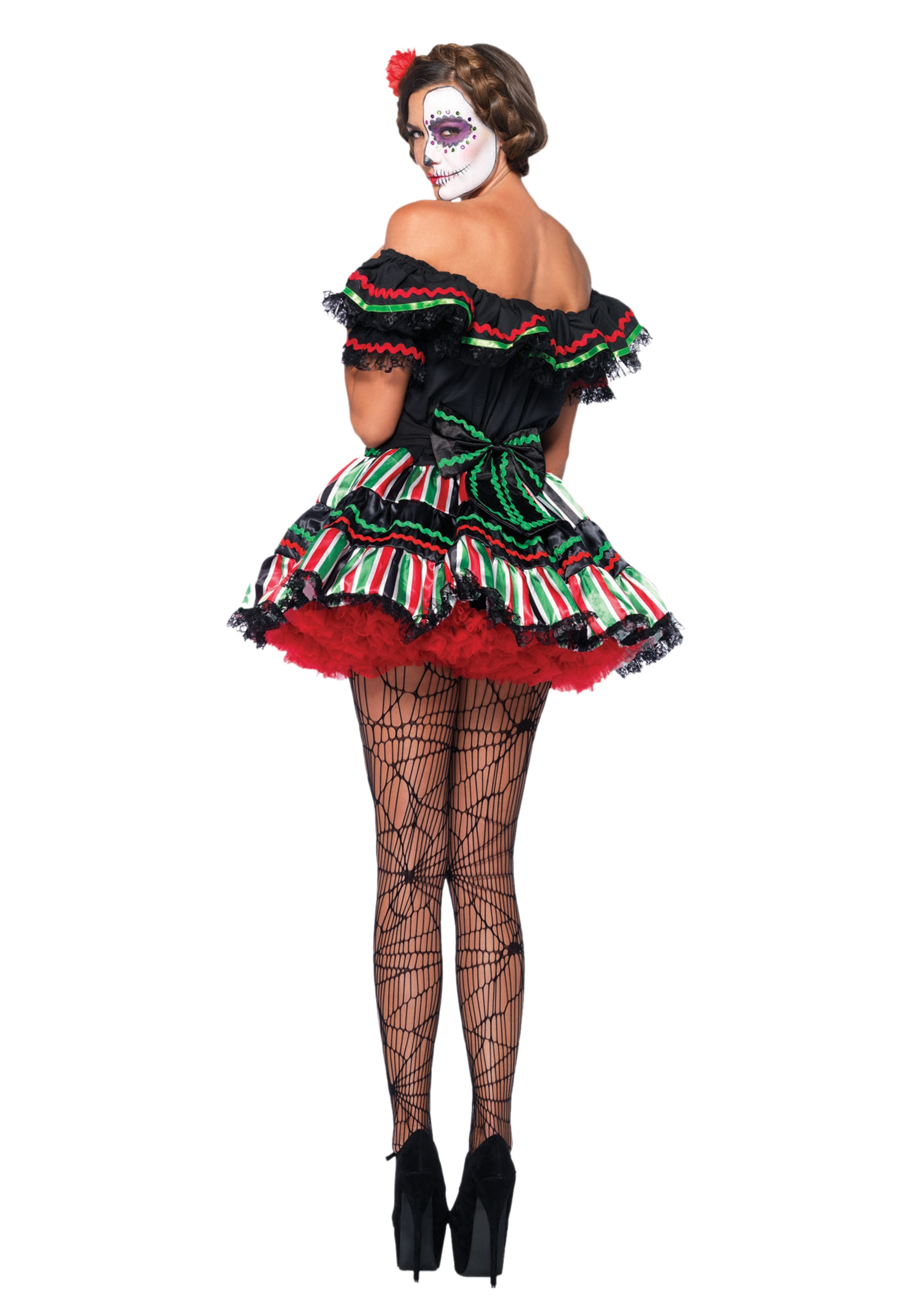 b1be968d1f3 ... Day of the Dead Doll Costume alt1