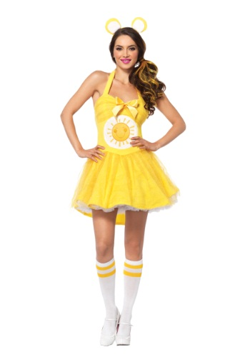 Adult Care Bears Funshine Bear Costume