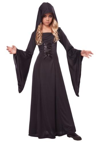 Black Hooded Robe