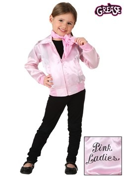Toddler Grease Pink Ladies Jacket
