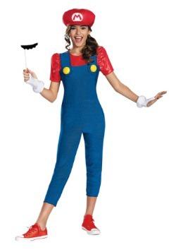 Tween Girls Mario Costume