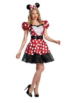 Red Glam Minnie Mouse Costume