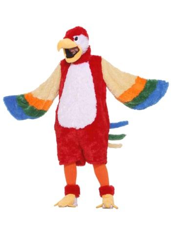 Plush Parrot Mascot Costume