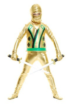 Toddler Gold Ninja Avengers Series III Costume
