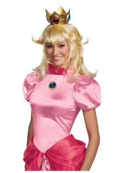Princess Peach Adult Wig