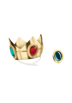 Princess Peach Crown and Amulet