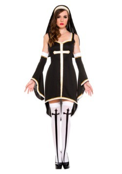 Womens Sinfully Hot Nun Costume