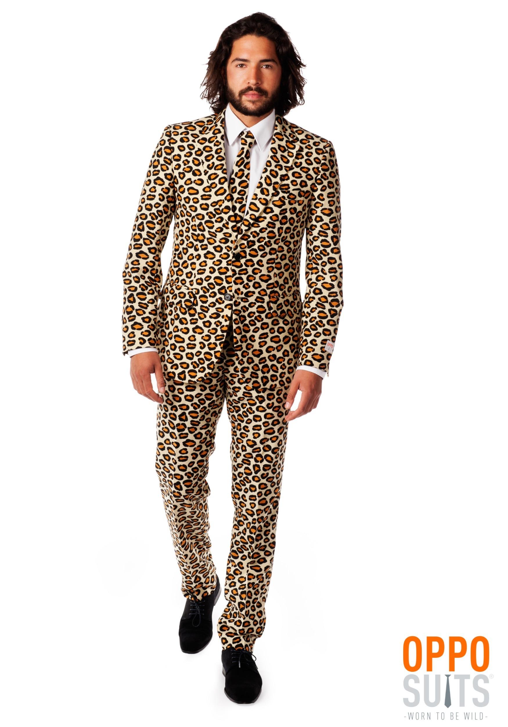 Men S Opposuits Jaguar Print Suit