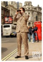 Mens Jaguar Animal Printed Suit Image 2