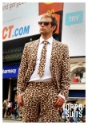 Mens Jaguar Animal Printed Suit Image 3