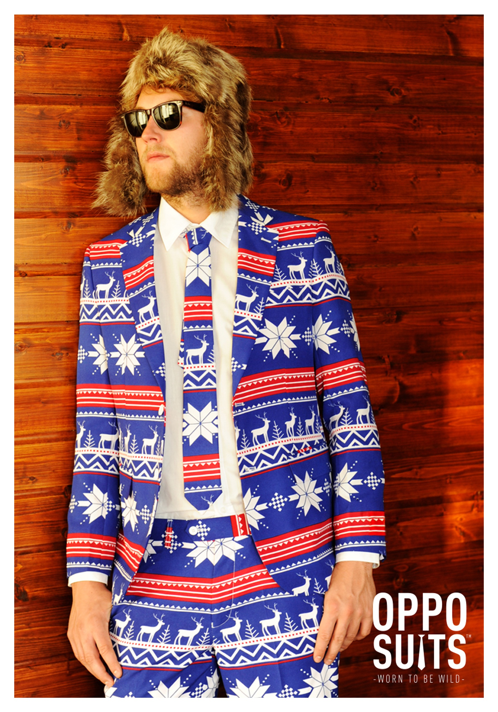 Christmas Sweater Suit.Men S Opposuits Ugly Christmas Sweater Costume Suit