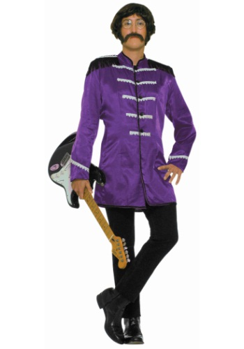 Adult Purple British Explosion Costume