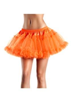 """12"""" Orange 2-Layer Petticoat"""