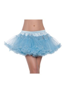 "12"" Sky Blue 2-Layer Petticoat"