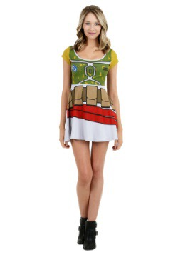Star Wars Boba Fett Skater Dress