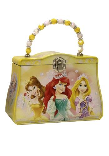 Yellow Disney Princesses Tin Purse