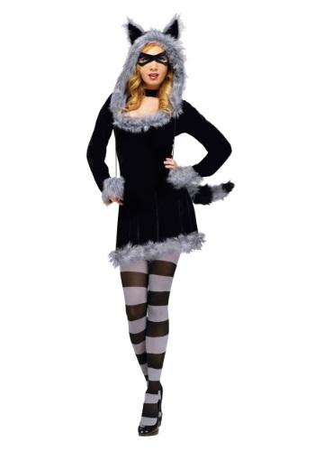 Racy Raccoon Adult Costume