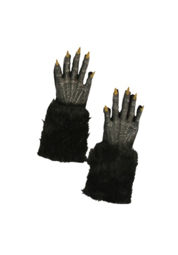 Black Werewolf Gloves