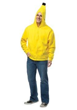 Plus Size Adult Banana Hoodie