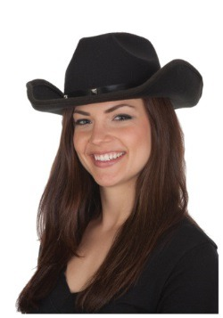 Adult Black Cowboy Hat