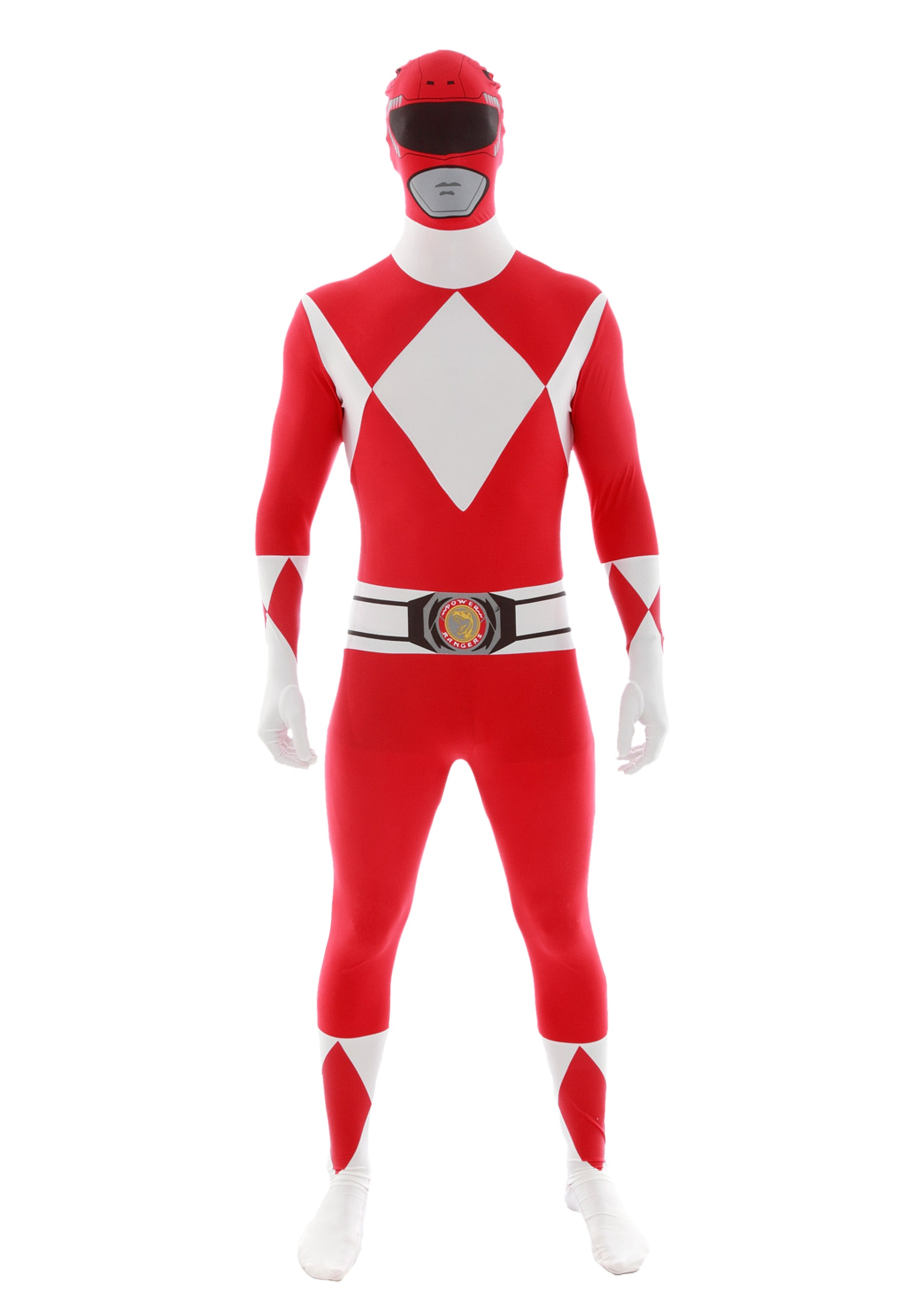 Adult Power Rangers Costumes - Adult Mighty Morphin Power Ranger ...