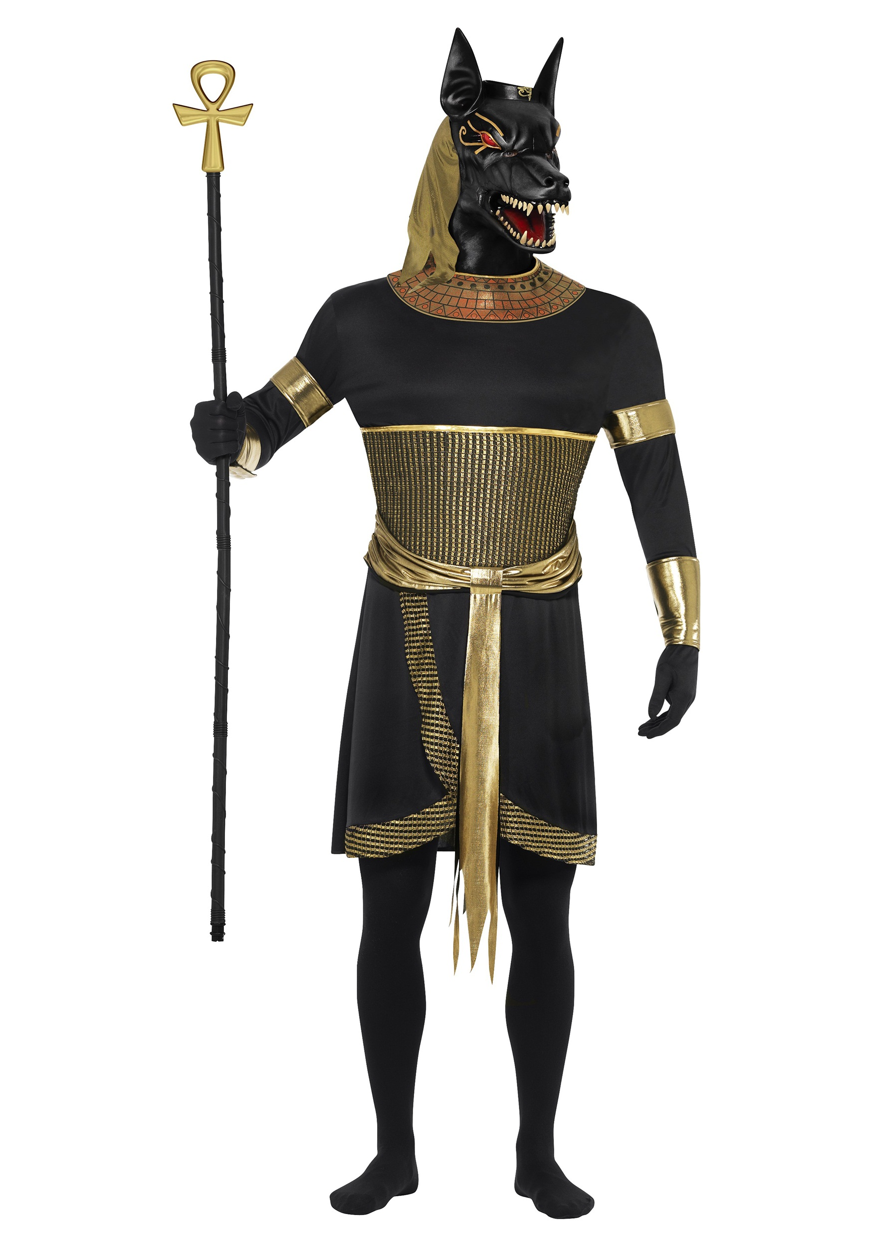 Mens Anubis the Jackal Costume  sc 1 st  Halloween Costumes & Menu0027s Anubis the Jackal Costume
