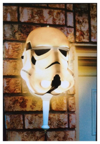 Stormtrooper Porch Light Cover
