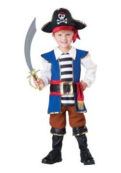 Toddler Pirate Captain Costume