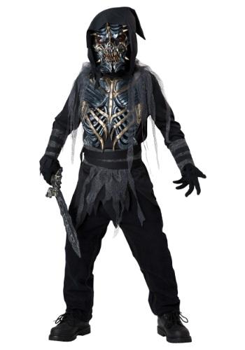Child Death Warrior Costume