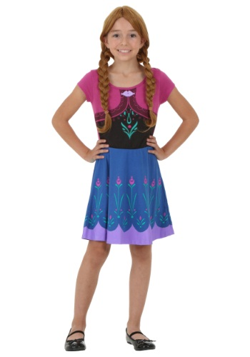 Frozen Tween I am Anna Dress