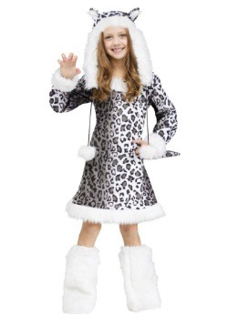 Snow Leopard Child Costume