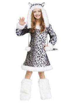 Snow Leopard Child Costume