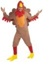 Plus Size Fleece Turkey Costume