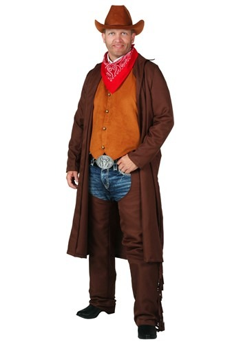 Plus Size Rancher Cowboy Costume