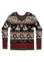 Adult Ugly Frisky Deer Sweater alt 2