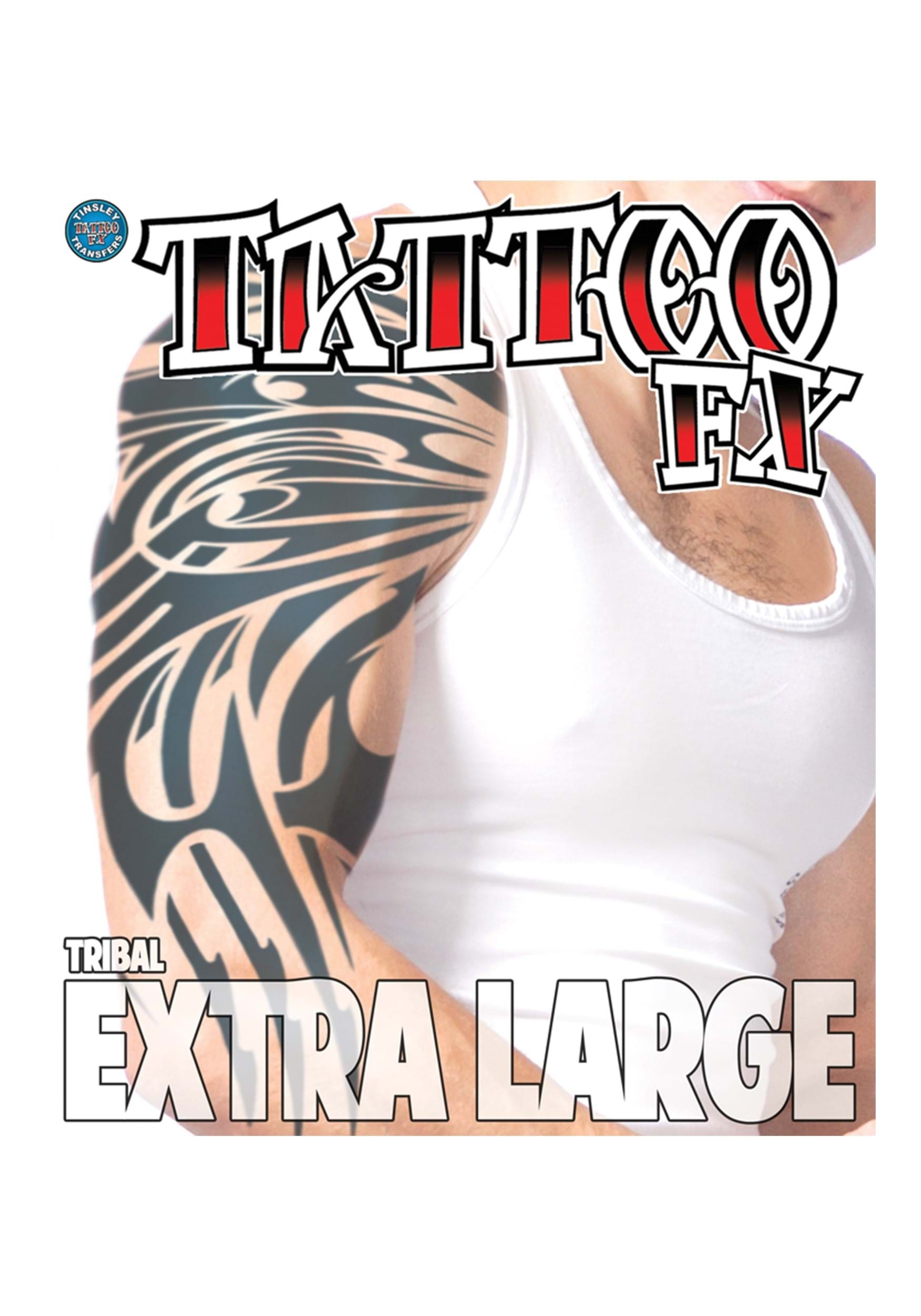 INOpets.com Anything for Pets Parents & Their Pets Extra Large Tribal Temporary Tattoo