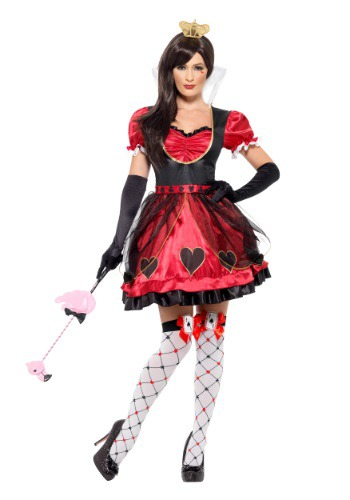 Women's Queen of Wonderland Costume