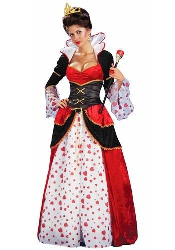 Womens Queen of Hearts Costume