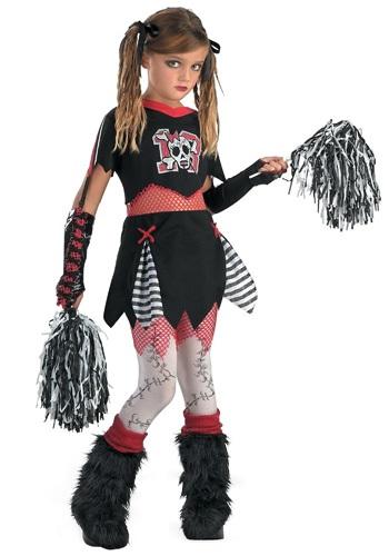 Kids Gothic Cheerleader Costume