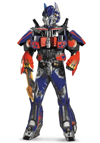 Adult Authentic Optimus Prime Costume