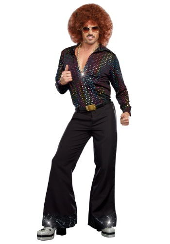 Plus Size Disco Dude Costume