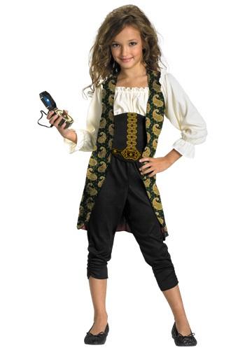Girls Angelica Pirate Costume