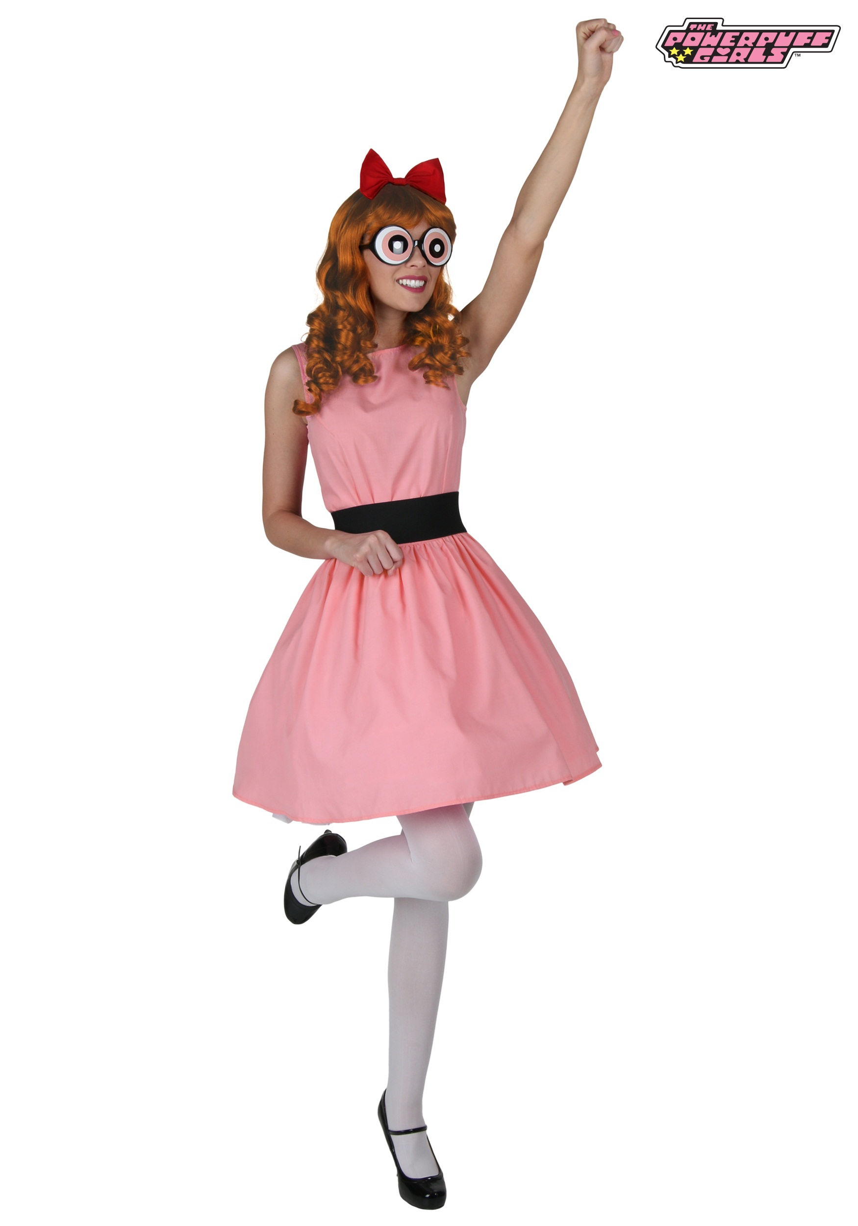 Plus Blossom Powerpuff Girl Costume-1467