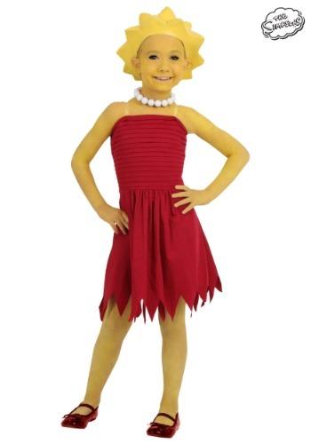 Child Lisa Simpson Costume